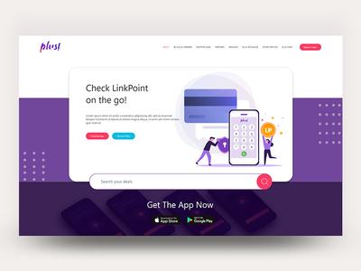revamped website  of plus