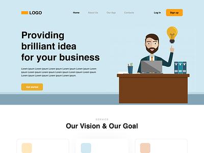 A business website design website design web design ux design ui design