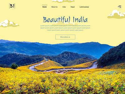 An Indian Valley vector ux ui design ux design web design branding ui