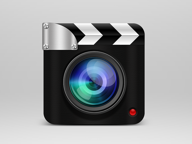 Lapse Time App icon ios iphone camera video lapsetime skeuomorphic