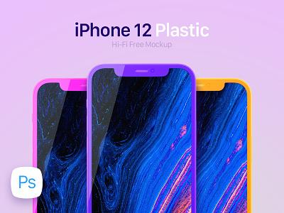 iPhone 12 Plastic Mockup iphone 12 pro mobile mockup iphone 12 template iphone mockup iphone 12 mockup iphone 12