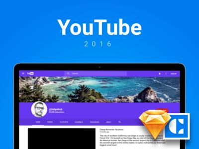 YouTube - Sketch mock-up