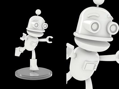 Voitto 3D Figure cinema 4d 3d object 3d print toy figure c4d