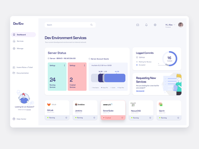 DEV-Dashboard dashboard design dashboard app app development dev dahsboard code ux design uidesign ux ui app design dashboard ui dashboard