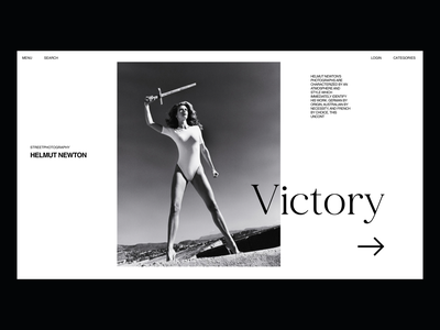 Helmut-Newton fashion design layout exploration layout design black-white clean photography fashion minimal