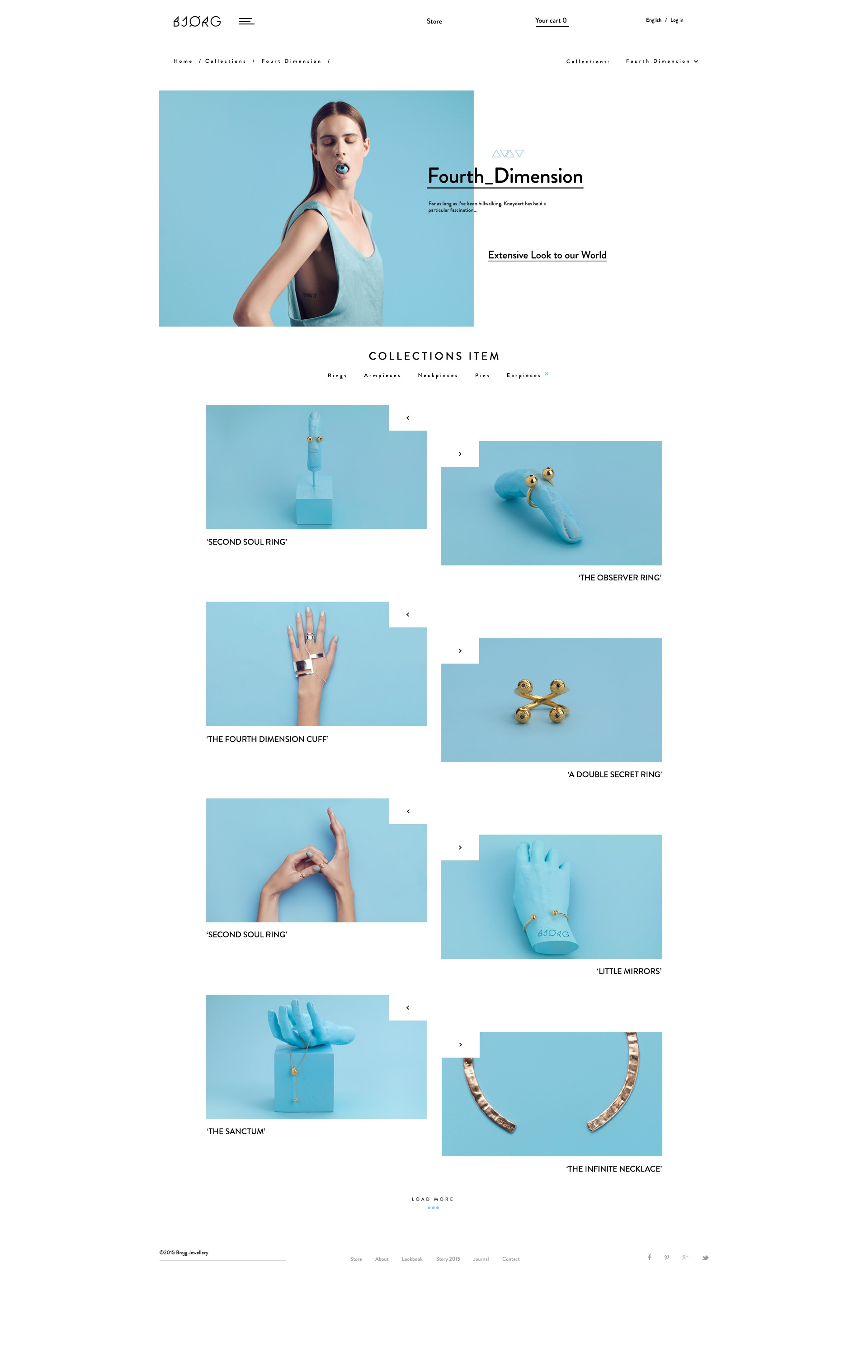 Bjork product list