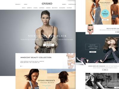 Osyho Dribble minimal web design ui