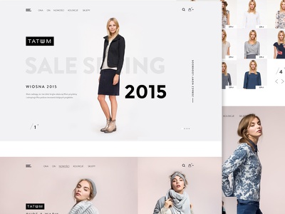 Tatuum fashion minimal ecommerce