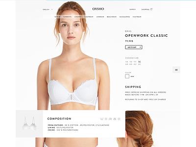 Oysho Product  product site ecommerce fashion