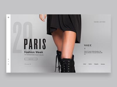 Fashion Week Header gray minimal legs fashio hero header