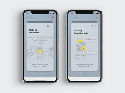 Black_Box_Wizzard onboarding screen installation app ios 11 guideline ux wizzard ui