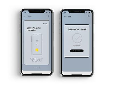 Black Box Wizzard Conf mobile app design car app guideline onboarding screen ios app