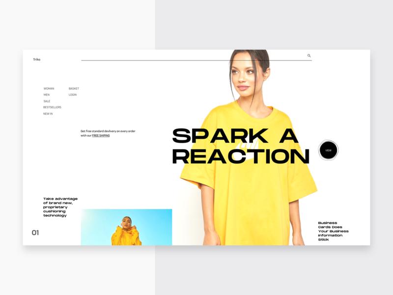 SP_1154_2605 web design clean ui ux ecommerce fashion landing page minimal