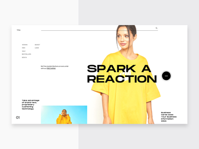 SP_1154_2605 web design clean ui ux ecommerce fashion landing page minimal