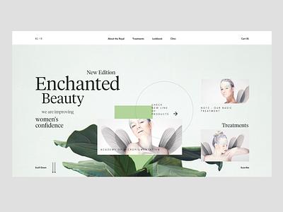 RL1952_20 minimal web web design elegant elves product page fashion clean landing page ux ui