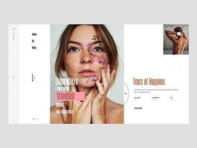 G1201_1707 clean web web design fashion app landing page ui ux minimal