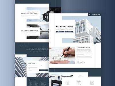ARCHITXT - Architecture Responsive Webdesign housing product design webdesign modern responsive website design building architecture