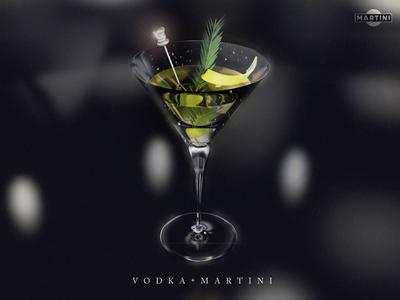 Martini Glass Render