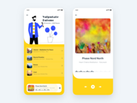 Music Player App UI