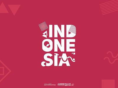 INDONESIA Typography Illustration typography vector design illustration