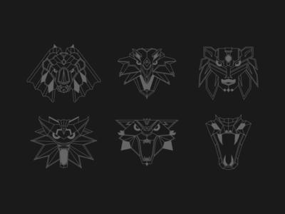 The Witcher School Medallion Design
