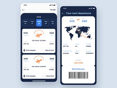 Flight App flight booking flight uidesign graphic design design ux minimal art app