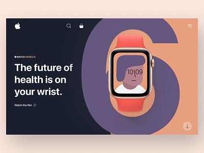 Apple Watch Series 6 apple watch apple ui uidesign graphic design design ux minimal art app