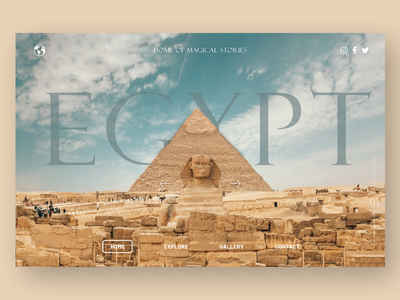 Egypt egyptian travel app traveling travel egypt ui uidesign graphic design design ux minimal art app