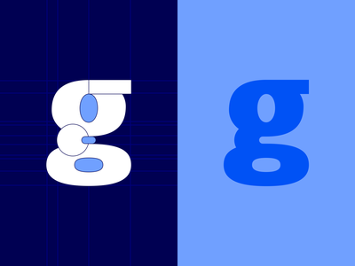 (g)rid serif sans glyph lowercase g behind the scenes layout grid typography font letter