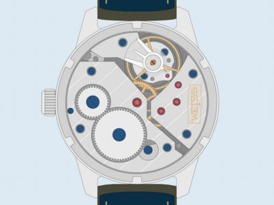 Weiss Standard Issue Field Watch Exhibition Caseback