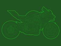 Kawasaki Ninja H2R - Side