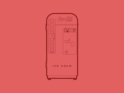 Vendo Coke Machine - 30 Minute Warmup