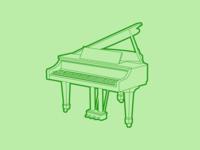 Grand Piano - 30 Minute Warmup