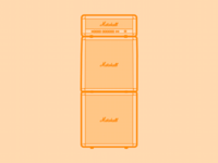 Marshall Amp Stack - 30 Minute Warmup