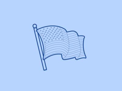 American Flag - 30 Minute Warmup
