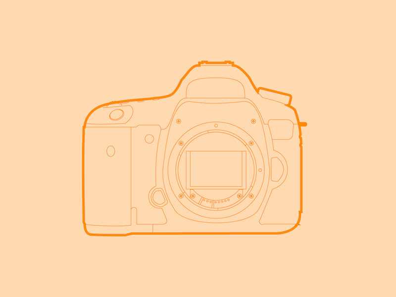 Canon 5Ds - 30 Minute Warmup line flat wip drawing canon 5ds camera digital lens photo illustration warmup