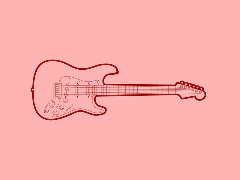 Fender stratocaster 30 minute warmup