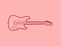 Fender Stratocaster - 30 Minute Warmup
