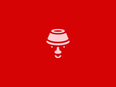 Lamp + Face Logo