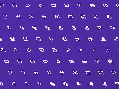 Free Editor UI Icon Set set icon cc sketch photoshop illustrator adobe ui editor