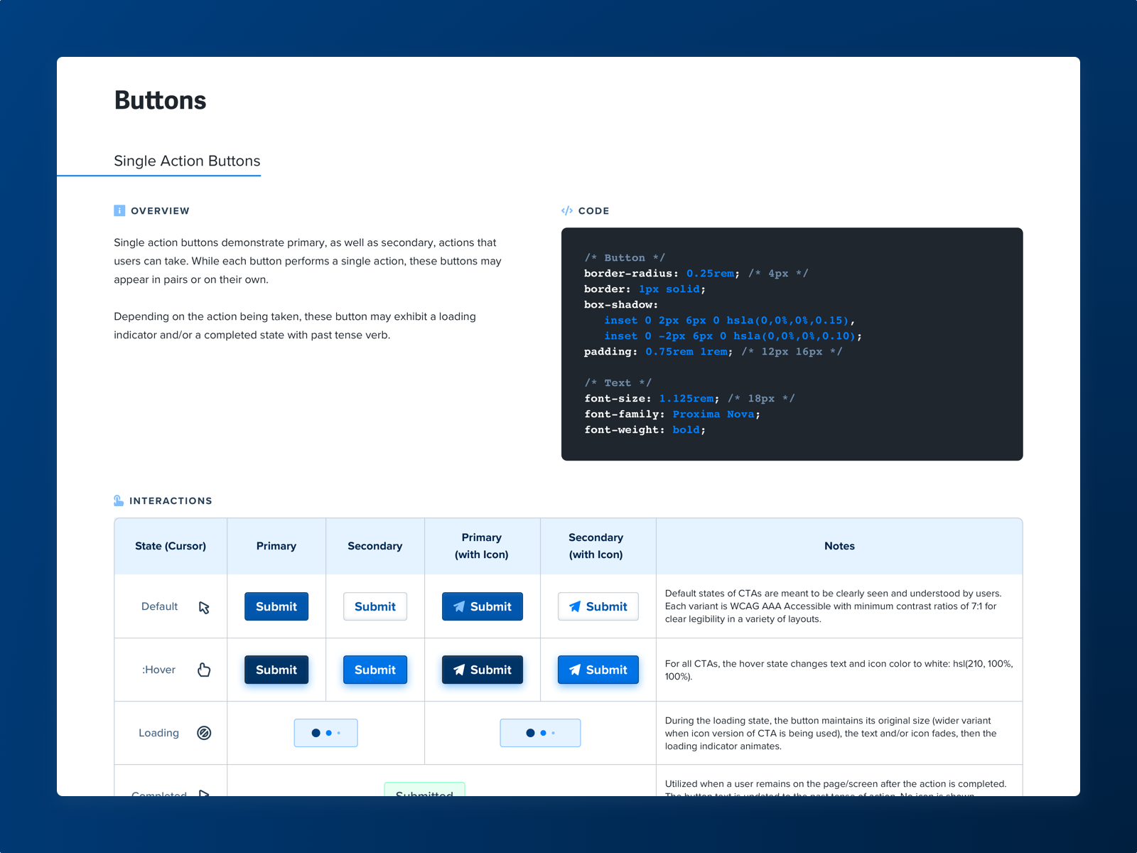 Design system ui components wip