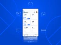 Mobile Dashboard UI - WIP