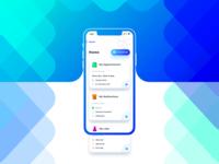 Hospital iOS App - Home Screen WIP
