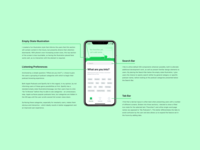 Podcast iOS App - Favorites (Empty State) Design Explanation