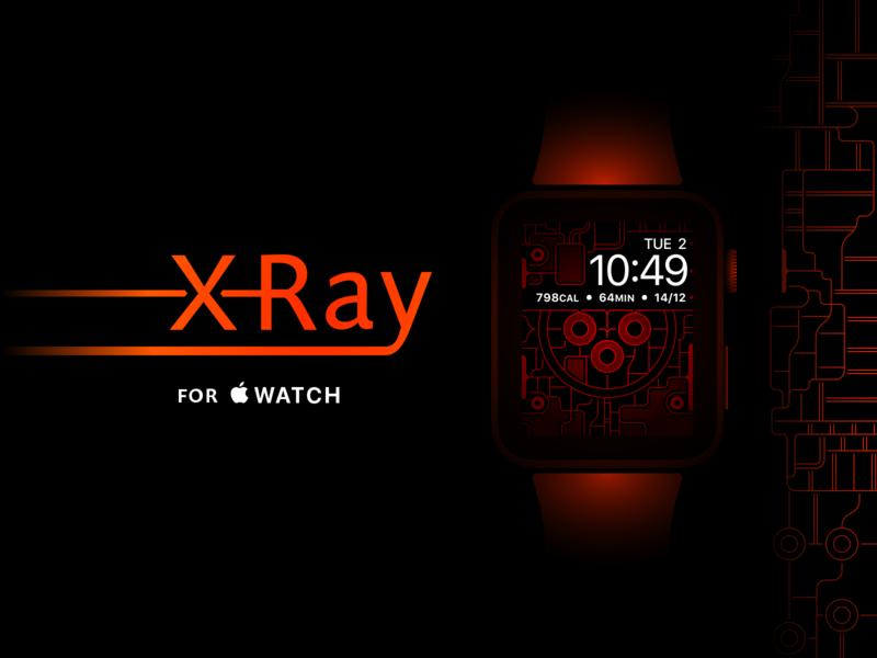 Apple Watch X-Ray Wallpaper - Gradient Colors Update fade gradient glow line free download design xray wallpaper 40mm 44mm 38mm 42mm watch apple