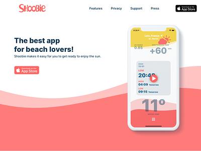 Shoobie app - Website on it's way... iphone webdesign design app dark mode shoobie