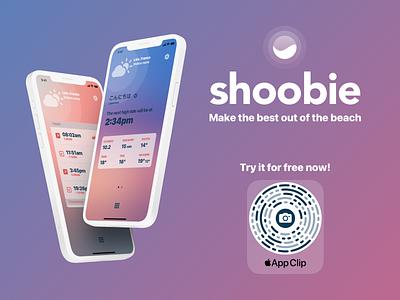 Shoobie v2 first shot. Try the AppClip! design ui iphone app ios