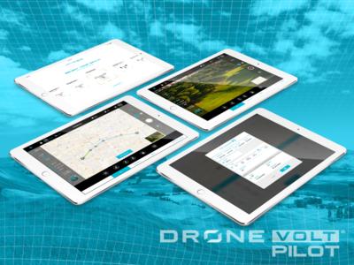 Dronevolt Pilot - iPad app ios app drone ipad
