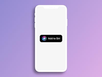 Add to Siri - Sketch library iphone ios ios 12 siri