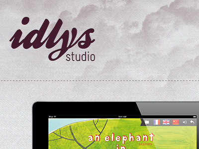 Teasing : IDLYS studio website